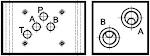 Nyomáshatárolós és határoló nélküli alaplapok CETOP 03, 05 útváltóhoz, fűzhető kivitel