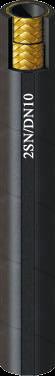 2 acélbetétes DN10-es hidraulika tömlő (2SN/DN10)