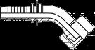 Tömlőfegyverzet (45°)