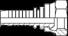 Tömlőfegyverzet (egyenes)