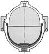 Szerelt, membrános hidroakkumulátor