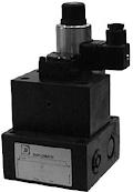 Két- és háromutas elővezérelt mennyiség-szabályozó szelep, arányos mágnessel CETOP 06