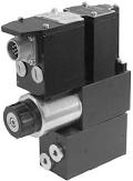 Alaplapos elővezérelt nyomáshatároló arányos mágnessel CETOP 03, 24VDC, ráépített elektronikával