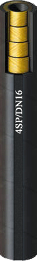 4 acélbetétes DN16-os hidraulika tömlő (4SP/DN16)