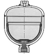 Hegesztett, membrános hidroakkumulátor