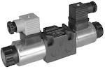 Alaplapos közvetlen vezérlésű nyomáscsökkentő, arányos mágnessel CETOP 03, 24VDC