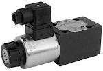 Alaplapos közvetlen vezérlésű nyomáshat, arányos mágnessel CETOP 03, 24VDC