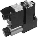 Alaplapos közvetlen vezérlésű nyomáshat, arányos mágnessel CETOP 03, 24VDC, ráépített elektronikával, nyitott vezérlő kör